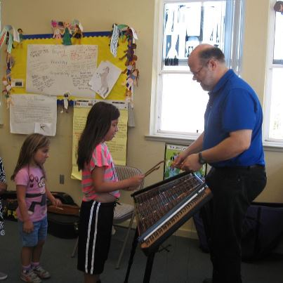 Teacher Steve's Instrument Petting Zoo