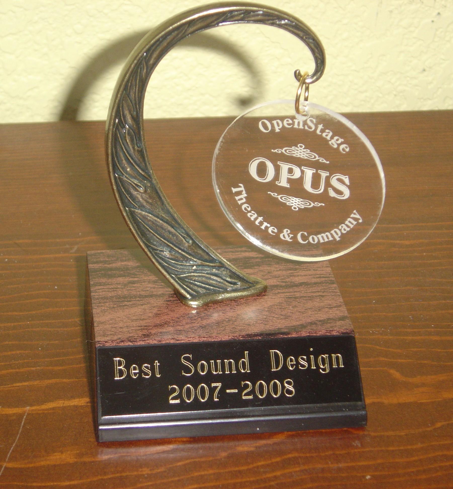 Arabian Nights-Opus Award