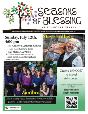 Seasons of Blessing Concert Series 2015